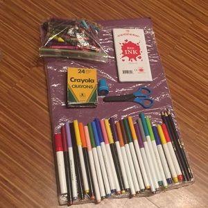 Other - 134-piece art supplies
